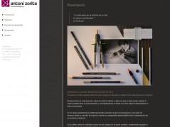 Web interiorista A.Zorita