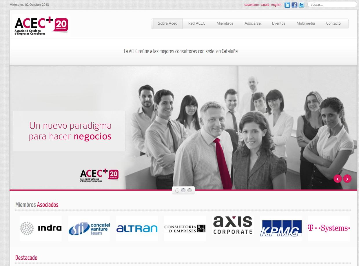 Web-portal Associacio Catalana Consultors
