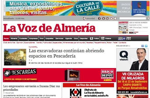 Global Proyect para La Voz de Almeria