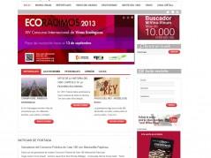 Web portal para la revista  Mi Vino