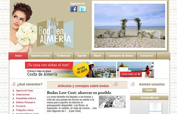 Web portal de bodas