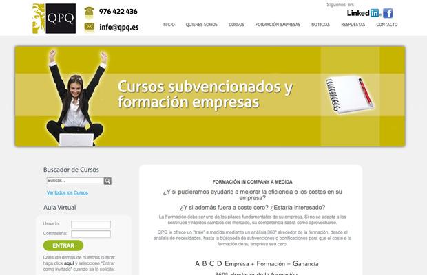 Web QPQ formación empresas