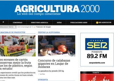 LA VOZ - AGRICULTURA 2000