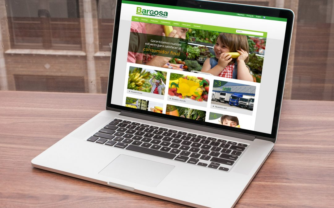 Portal web Bargosa Fruit Company